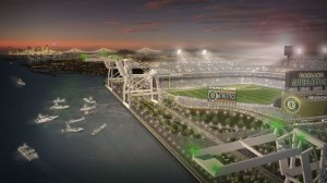 A's Waterfront Ball Park