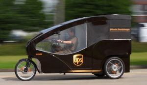 UPS Pedal Truck