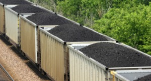 Coal in Railcar