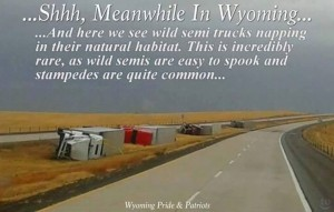Wind in Wyoming
