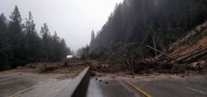 Mudslide on I-80 resulting in days-long closure.