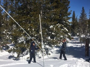 Measuring Snow Pack
